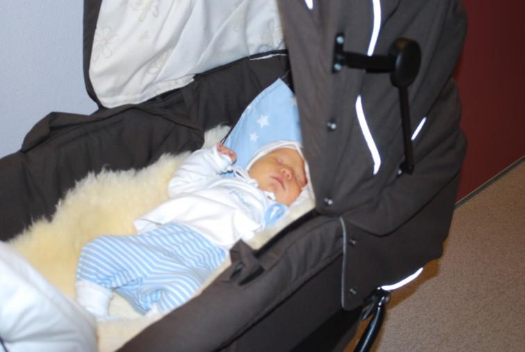 Sovende gutt