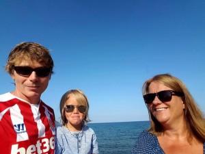 Familien på Mallorca