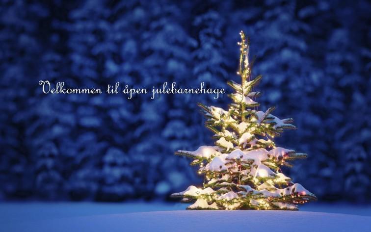 velkommen til åpen julebarnehage Andersrød