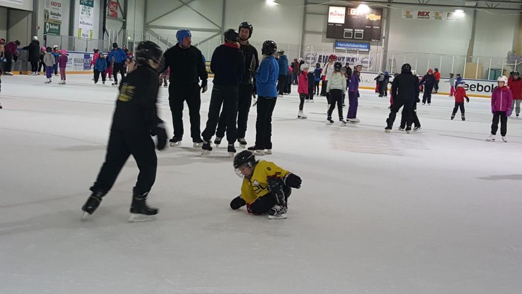 knall og fall på isen
