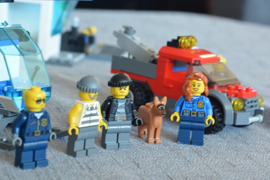figurer fra politistasjon Lego City