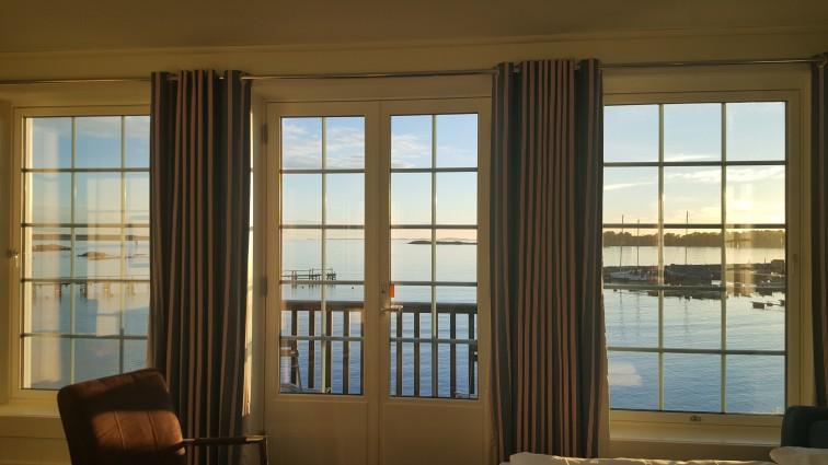 Utsikten fra rommet på Støtvig
