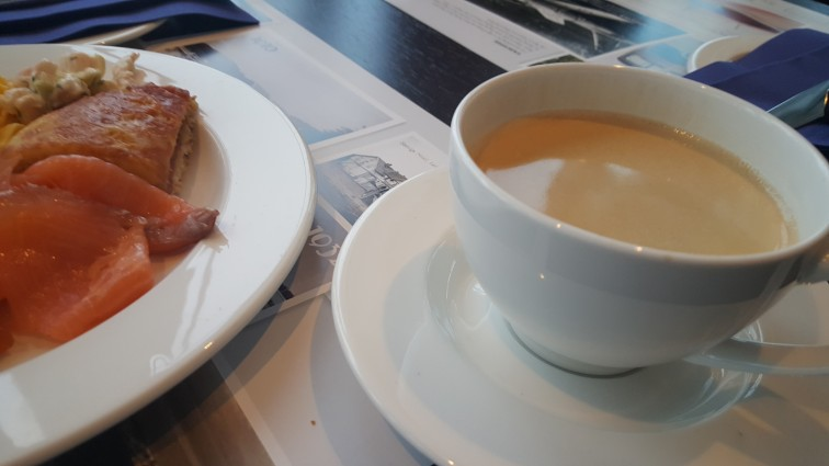 Kaffe til frokost på Støtvig