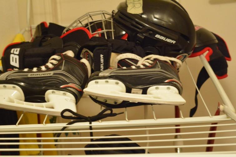 Skøter og hockeyutstyr