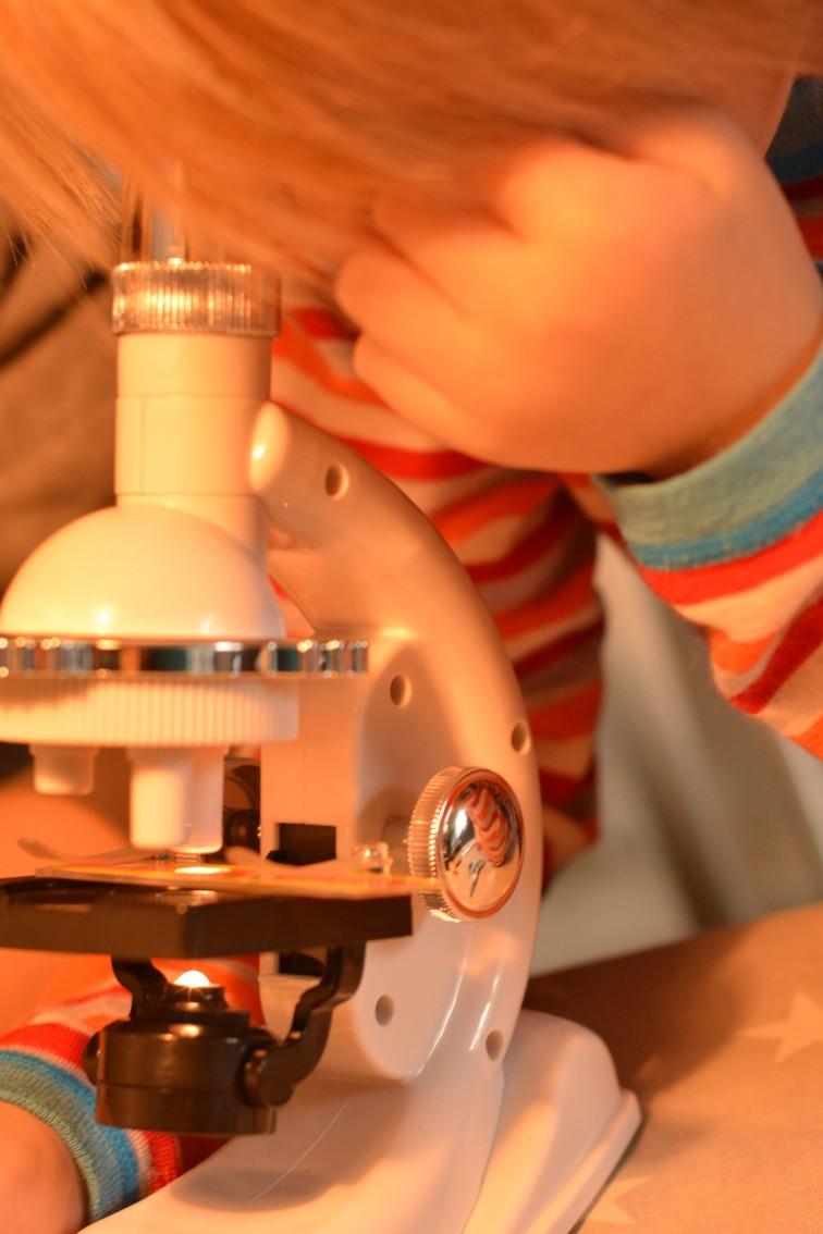 Petrus og mikroskopet