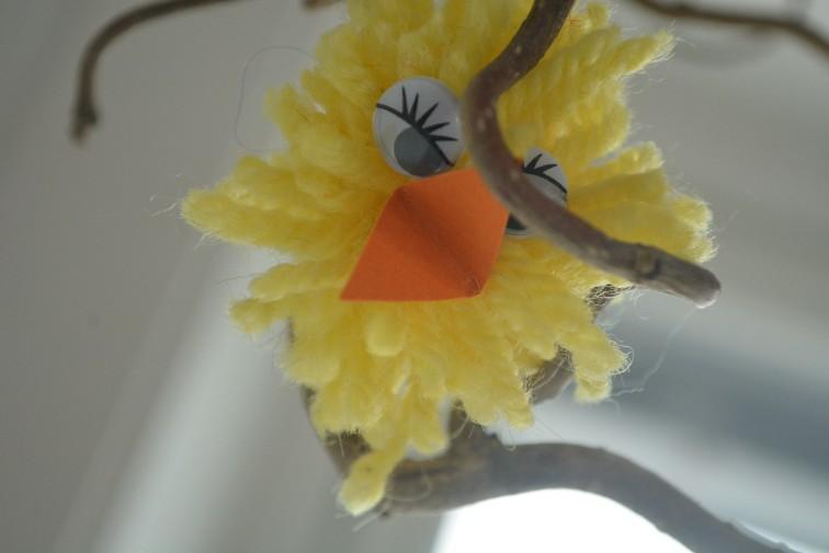 Den gule, lill sjeneret kyllingen