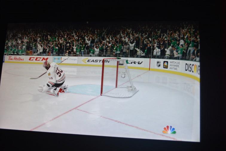 Ishockeyspill på Game On 2.0