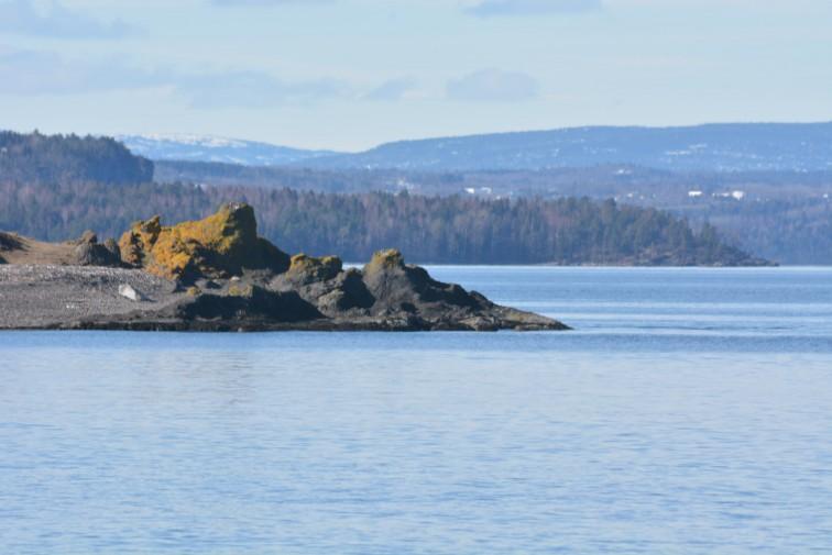 Gullholmen og vestfoldsiden