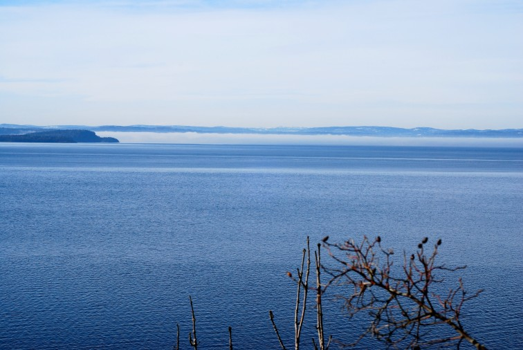 utsikt over Oslofjorden fra Rambergsnebba
