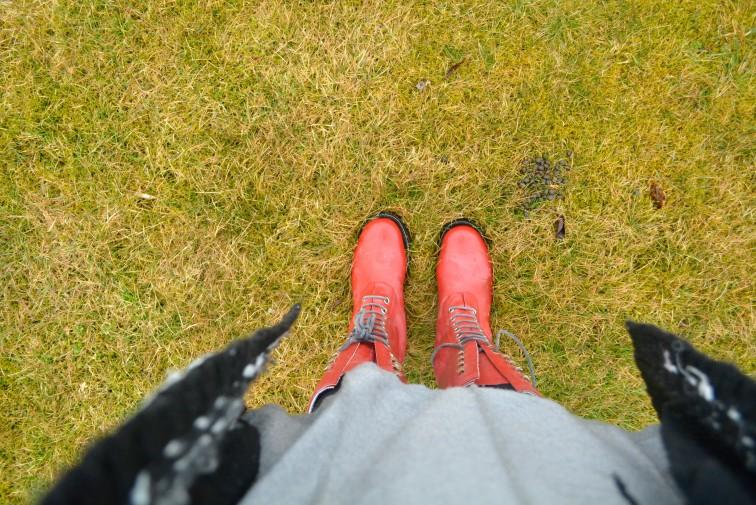 hverdagen i gummistøvler