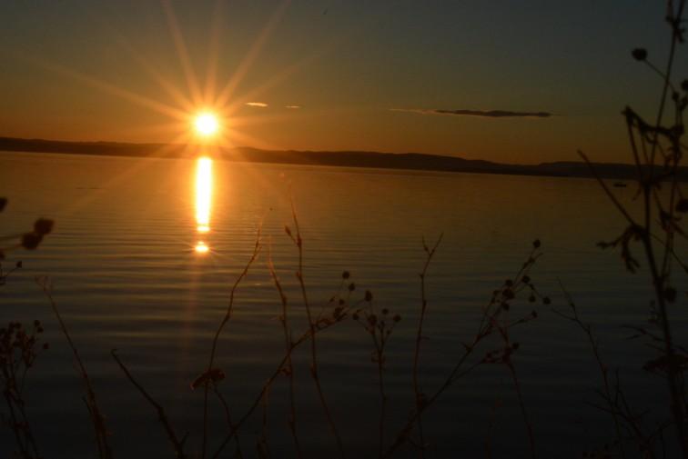Solnedgang Foto: Petrus og Petrine