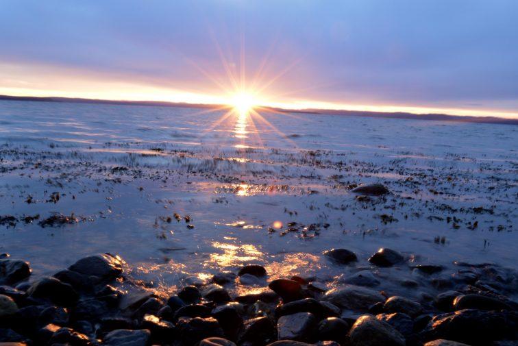 Solnedgang Refsnes Jeløy