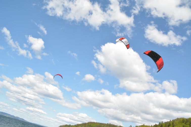 kitere ved Olsofjorden