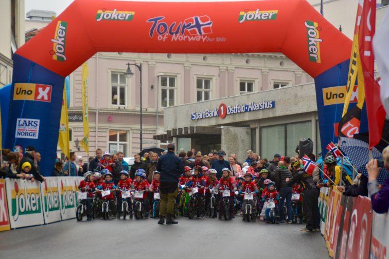 Starten på tour of Norway for kids, Moss