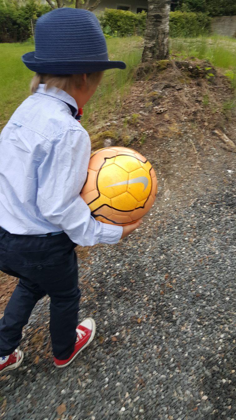 pentøy og fotball