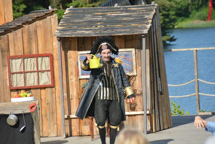 Zlatan i Kaptein Rødskjegg sin forestilling