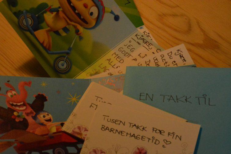 Takkekort til barnehageansatte