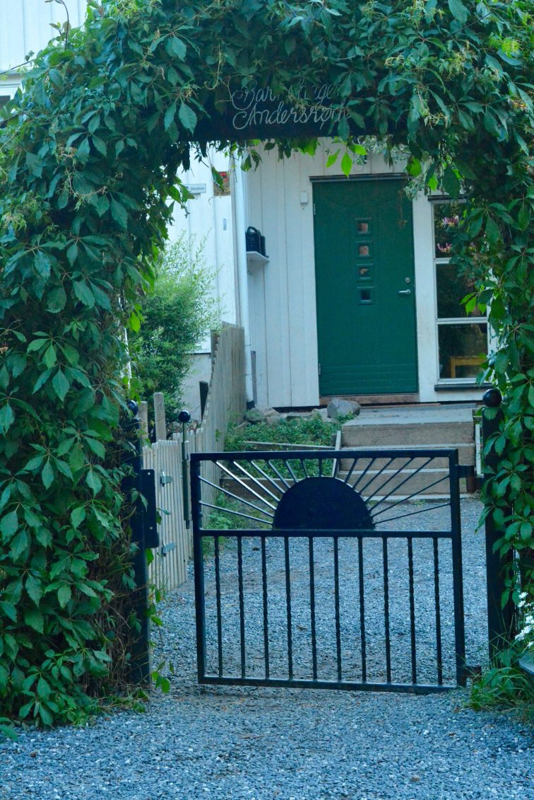 Porten til barnehagen Andersrød Jeløy