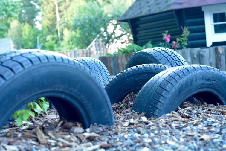 gummihjul til motorisk lek