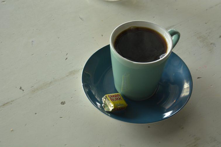 En kopp kaffe, smørtorget