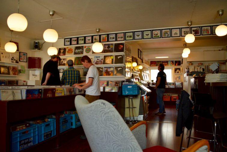 Tromsø Backbeat kaffe og vinyl