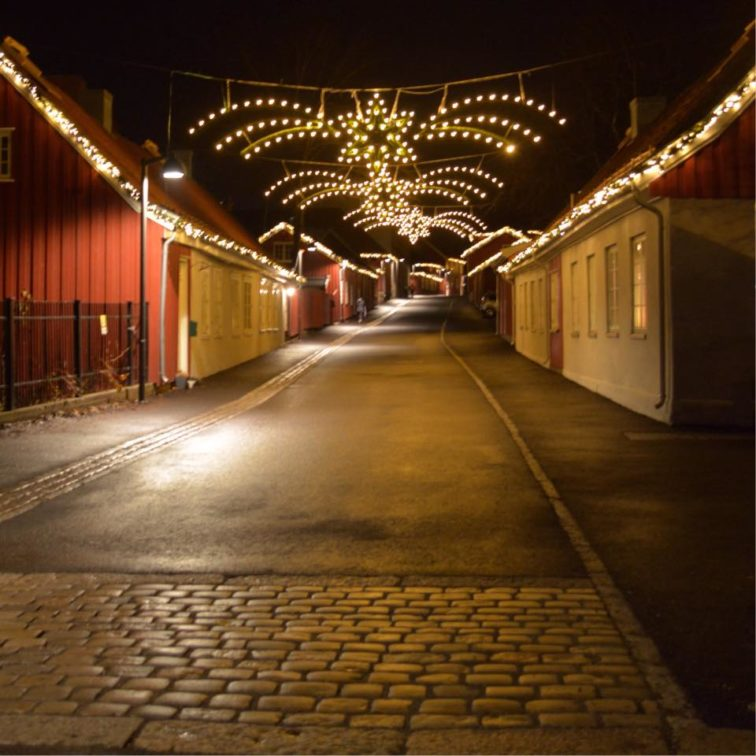 verket julen Foto: Petrus og Petrine