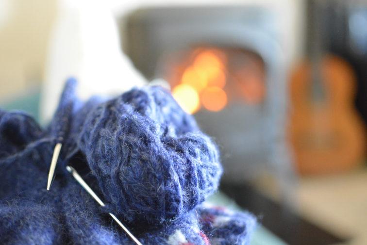 peis og strikketøy