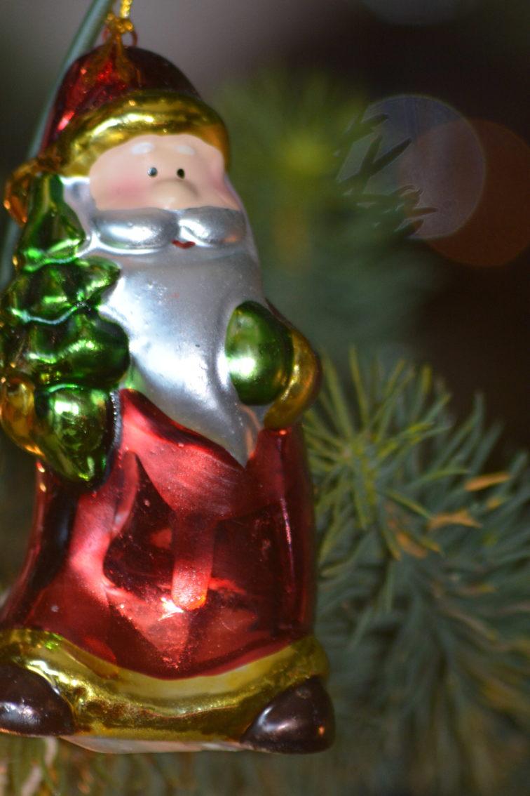 julenisse juletrepynt
