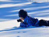 Ingen vet hvor haren hopper, - glimt fra vinterferien