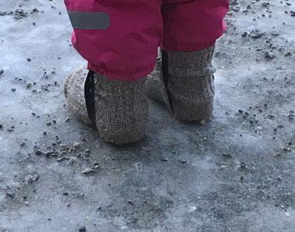 Tirsdagstips: Ullsokker på utsiden av skoene